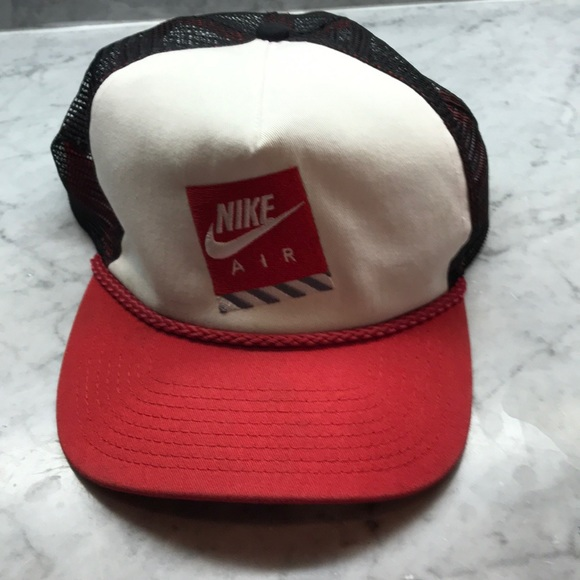 Nike Other - Vintage Nike Air Retro Snap Back Mesh Hat